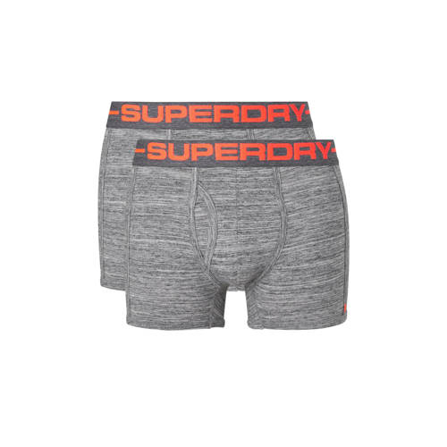 Superdry trunks in 2-pack orange logo