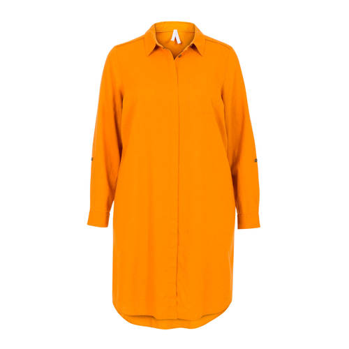 Miss Etam Regulier blousejurk oranje