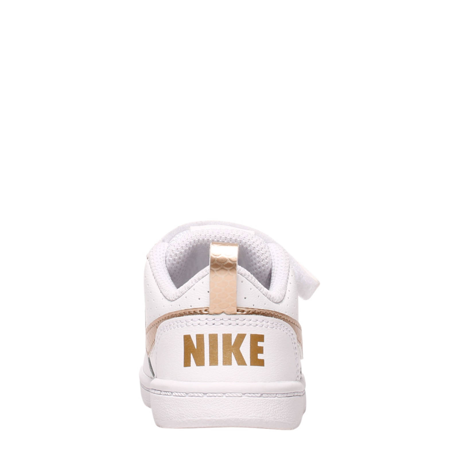 Court Borough Low sneakers wit/goud