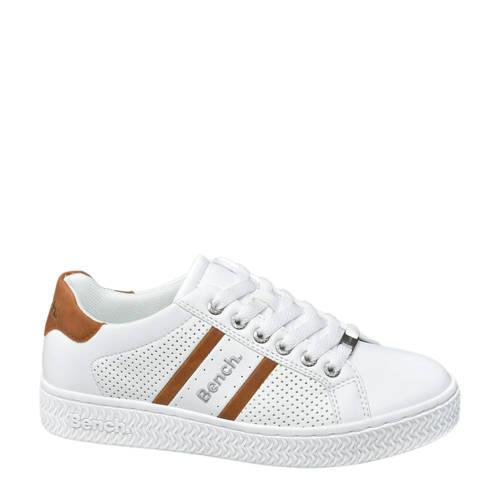 Bench sneakers wit/cognac