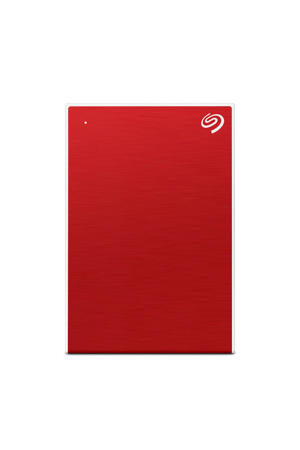 Backup Plus Portable externe harde schijf 5TB rood