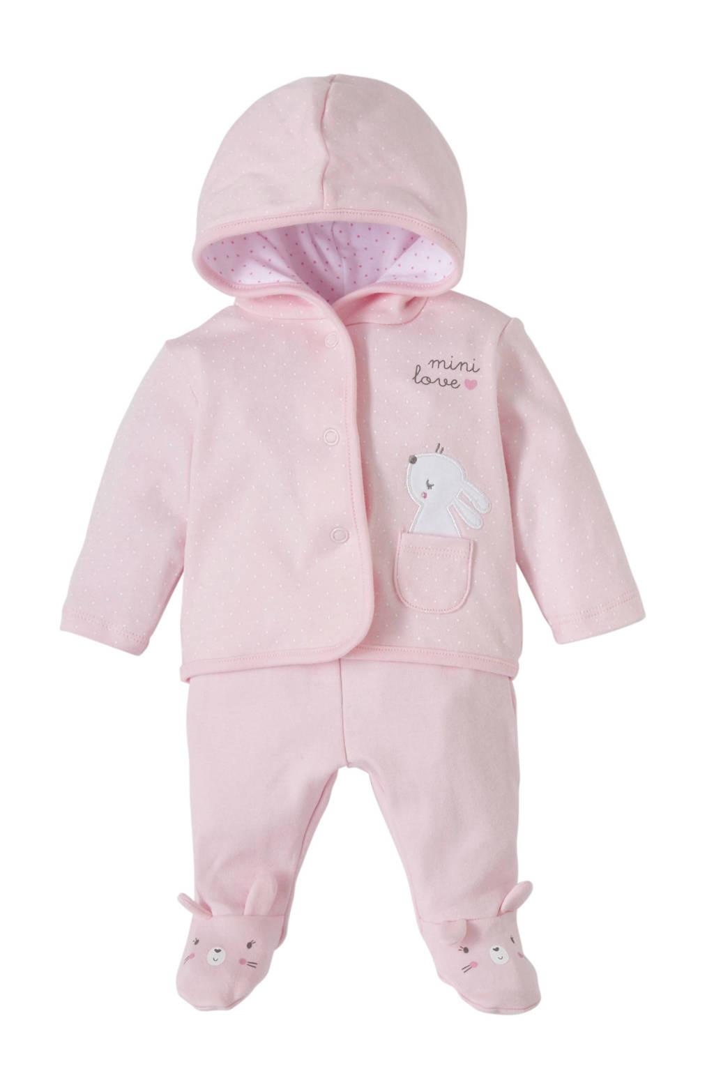 C&A Baby Newborn newborn baby vest + broek, Roze