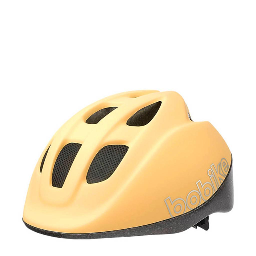 Bobike Go fietshelm lemon sorbet S, Lemon sorbet