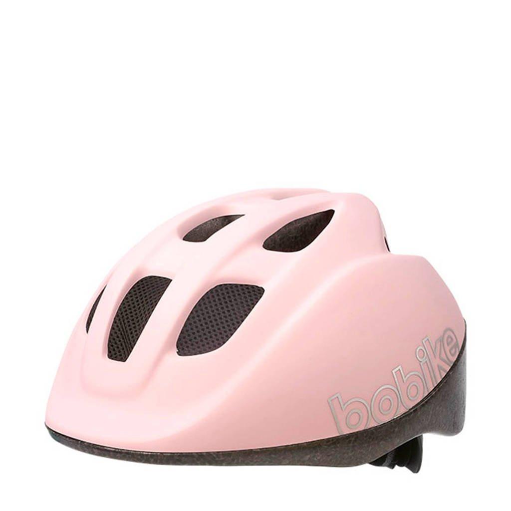 Bobike Go fietshelm cotton candy pink XS