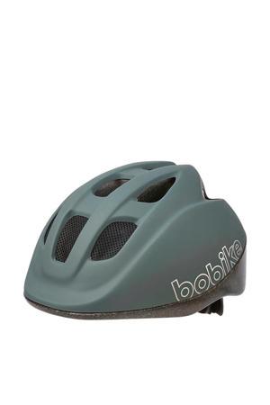 Go fietshelm macaron grey S
