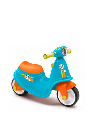 scooter blauw ride-on