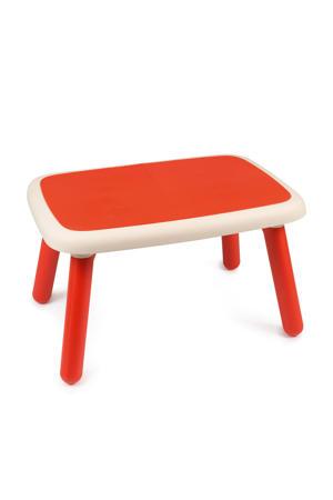 kindertafel rood