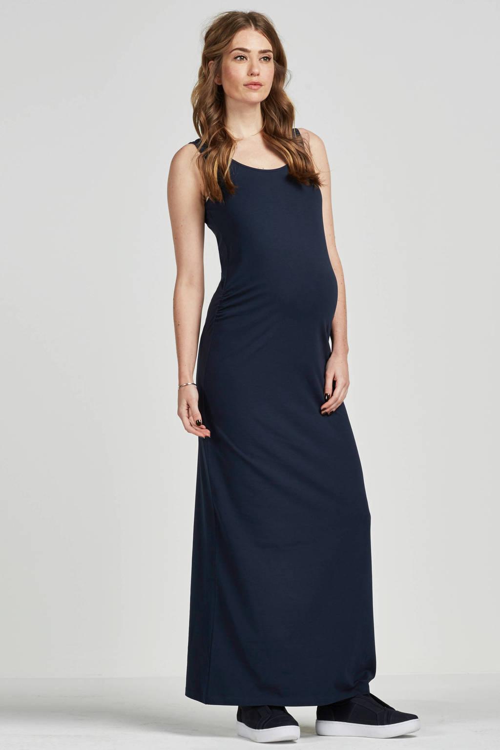 MAMA-LICIOUS zwangerschap maxi jurk Lea, Marine