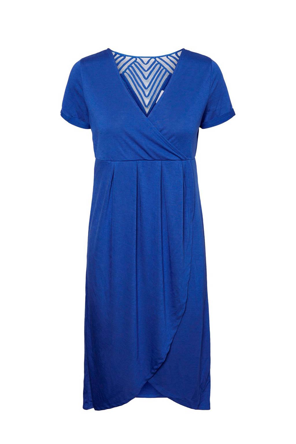 MAMA-LICIOUS zwangerschaps- en voedingsjurk Ura Tess blauw, Blauw