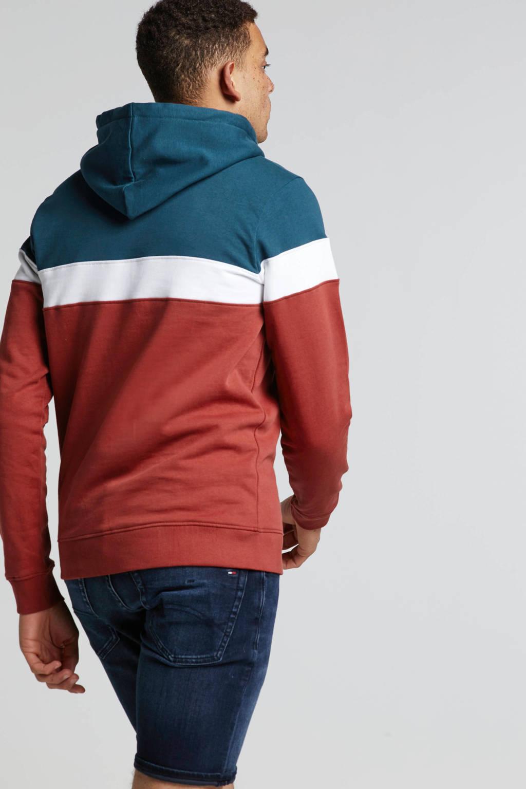 Redefined Rebel hoodie, Rood/wit/blauw