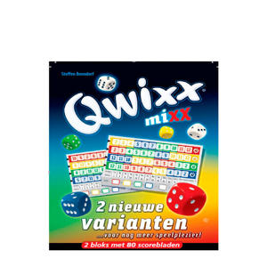 Qwixx Mixx dobbelspel