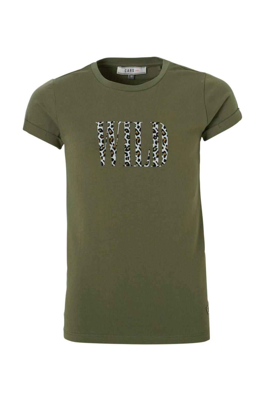 Cars T-shirt Emmarie met print army, Army