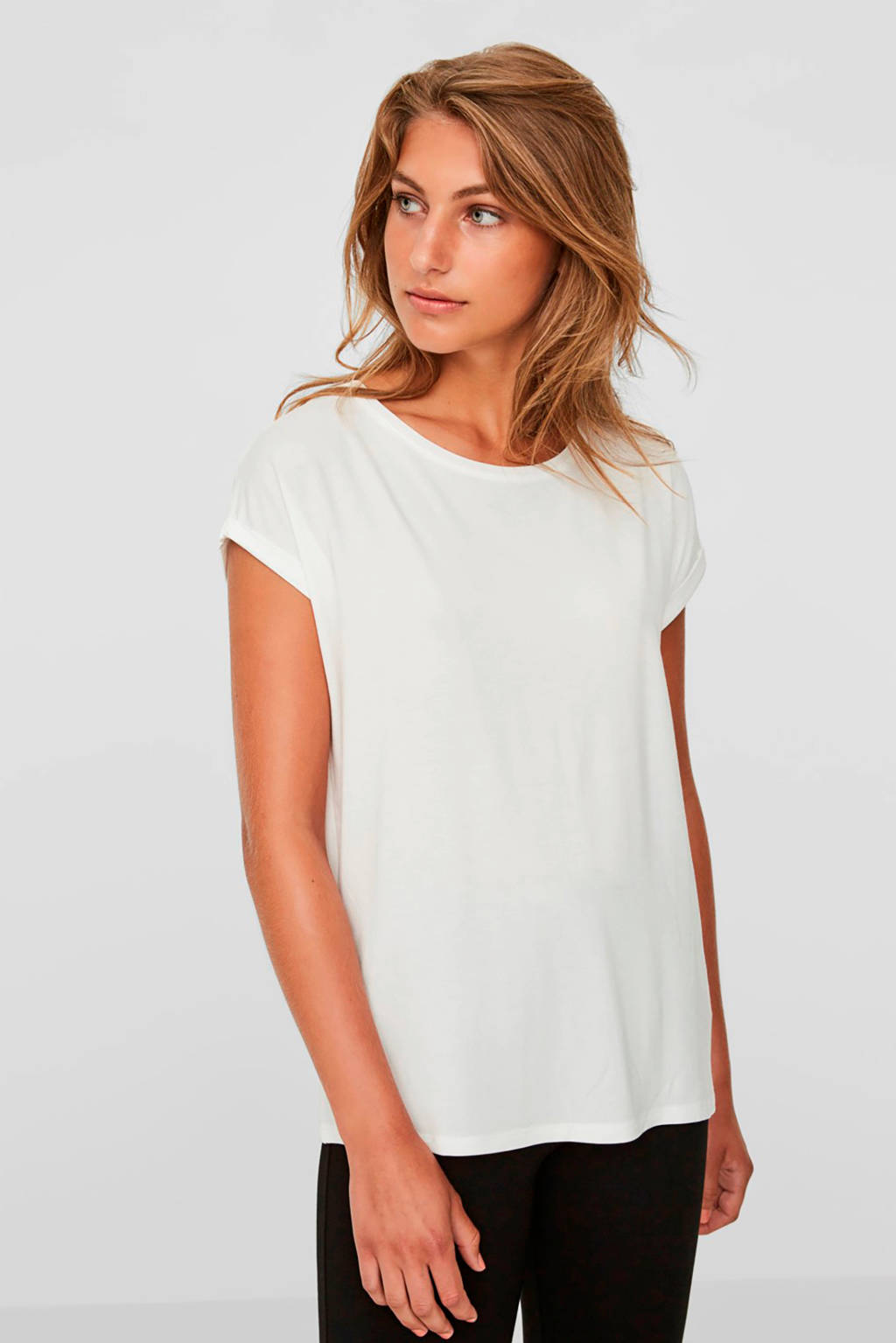 AWARE by VERO MODA T-shirt wit, Wit