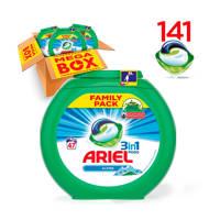 Ariel Alpine 3in1Pods wasmiddelcapsules 3 x 47 wasbeurten