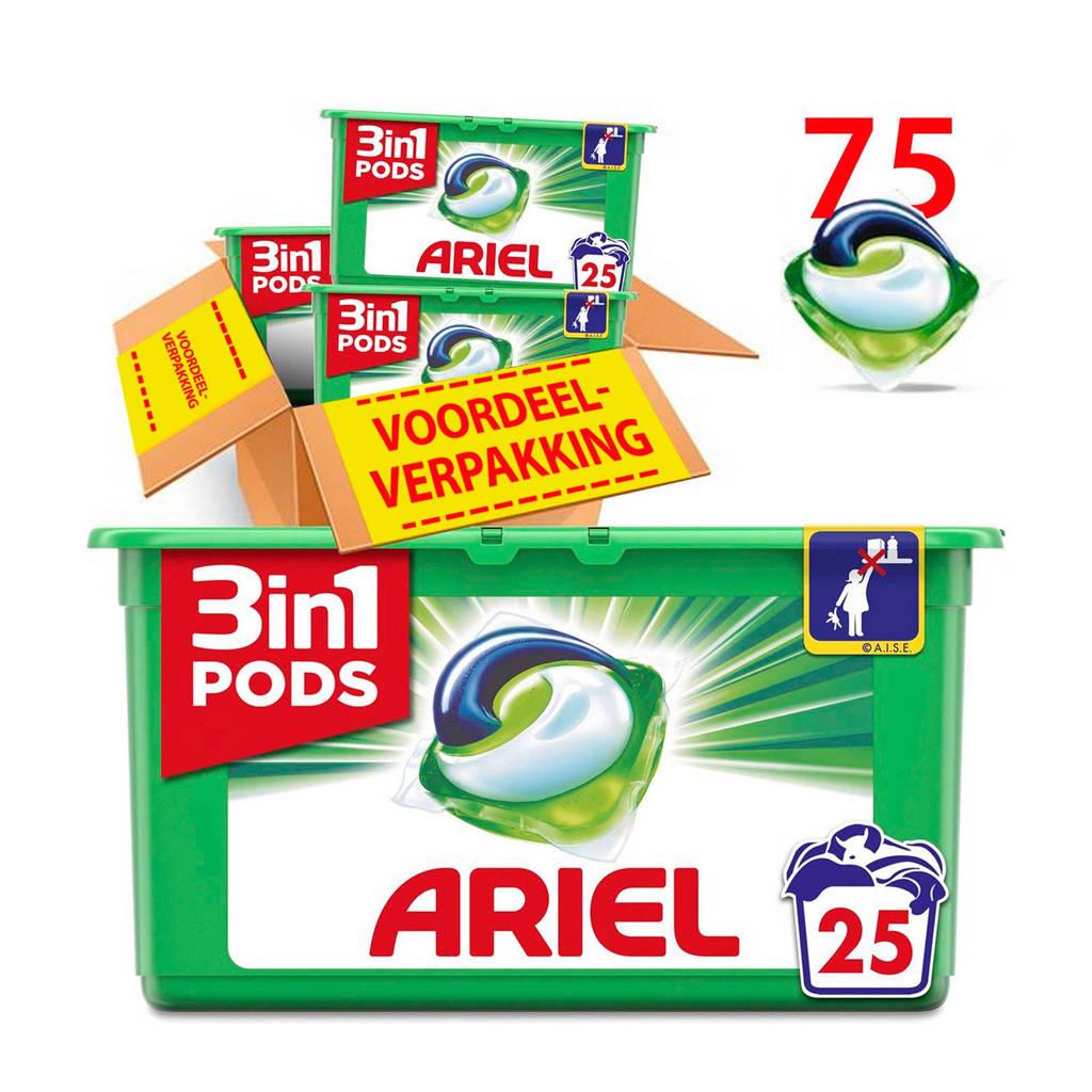Ariel Original 3in1Pods wasmiddelcapsules 3 x 25 wasbeurten