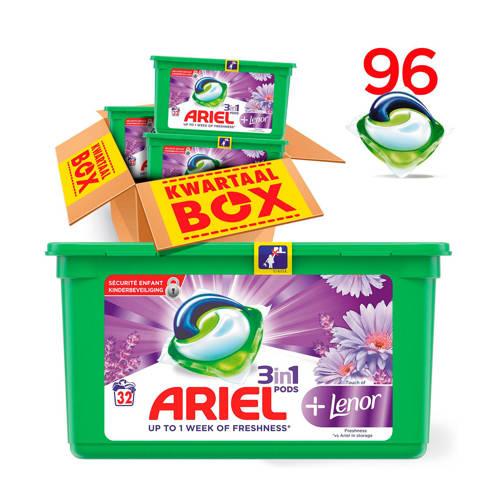Ariel Touch Of Lenor 3in1Pods wasmiddelcapsules 3 x 32 wasbeurten kopen
