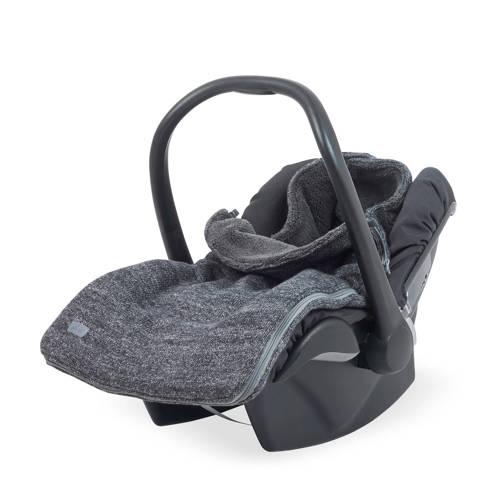 Jollein Natural knit groep 0+ voetenzak antraciet kopen