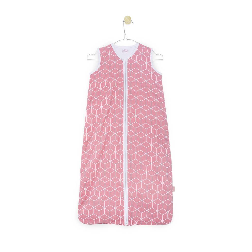 Jollein zomerbaby slaapzak graphic roze, Roze