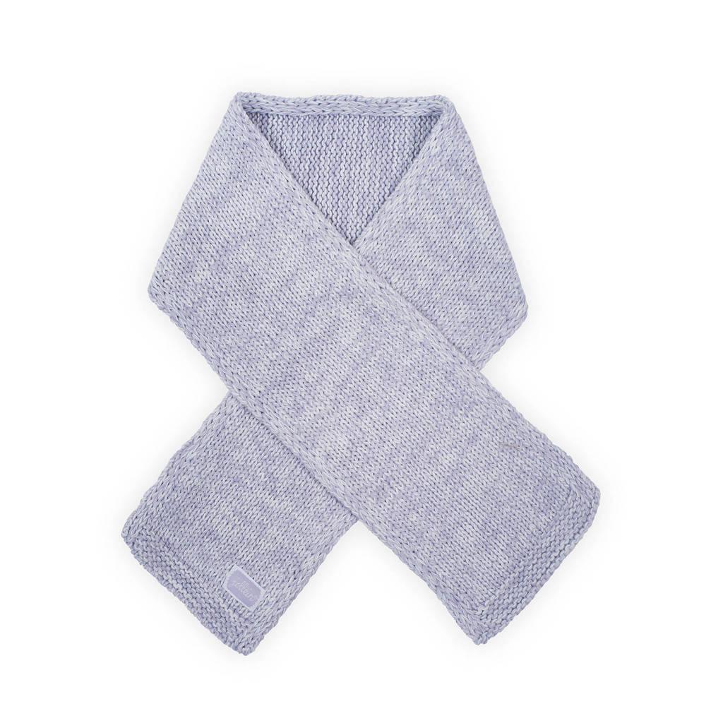 Jollein melange knit sjaal lila, Lila