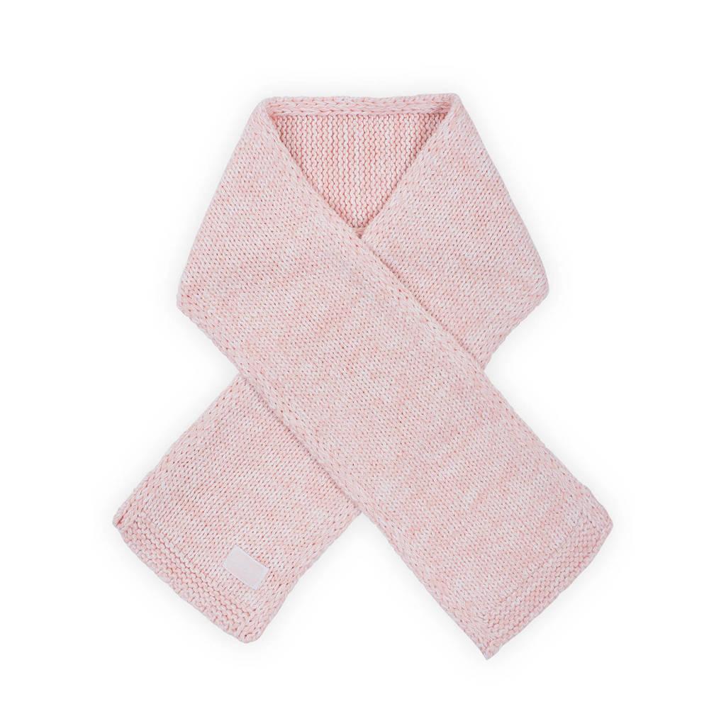 Jollein melange knit sjaal roze, Roze