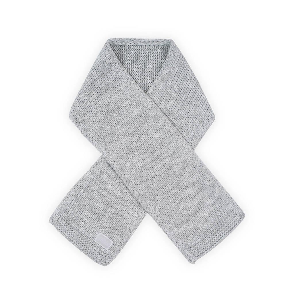 Jollein melange knit sjaal grijs, Grijs