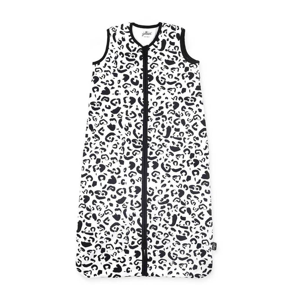Jollein zomerbaby slaapzak leopard, Zwart/wit