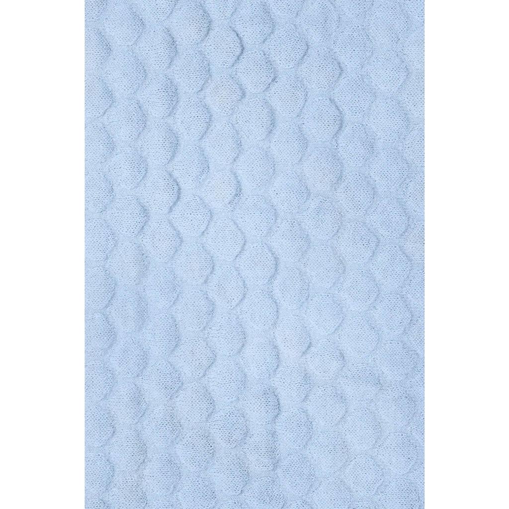 Baby Deken Jollein.Jollein Fancy Knit Wiegdeken 75 X 100 Cm Baby Blauw Wehkamp