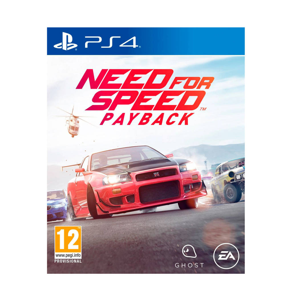 Need for Speed Payback (PlayStation 4), N.v.t.