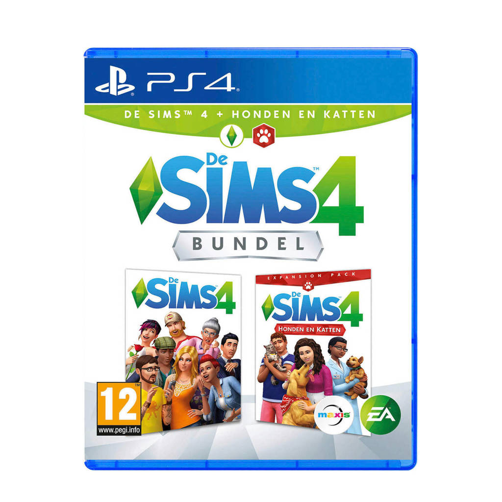 De Sims 4 + honden en katten (PlayStation 4), -
