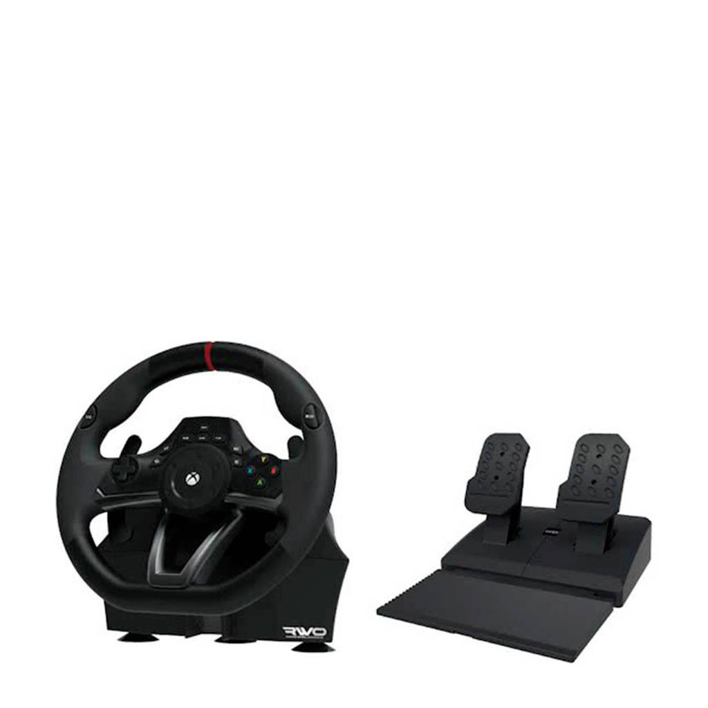Hori race stuur overdrive  (Xbox One), Zwart