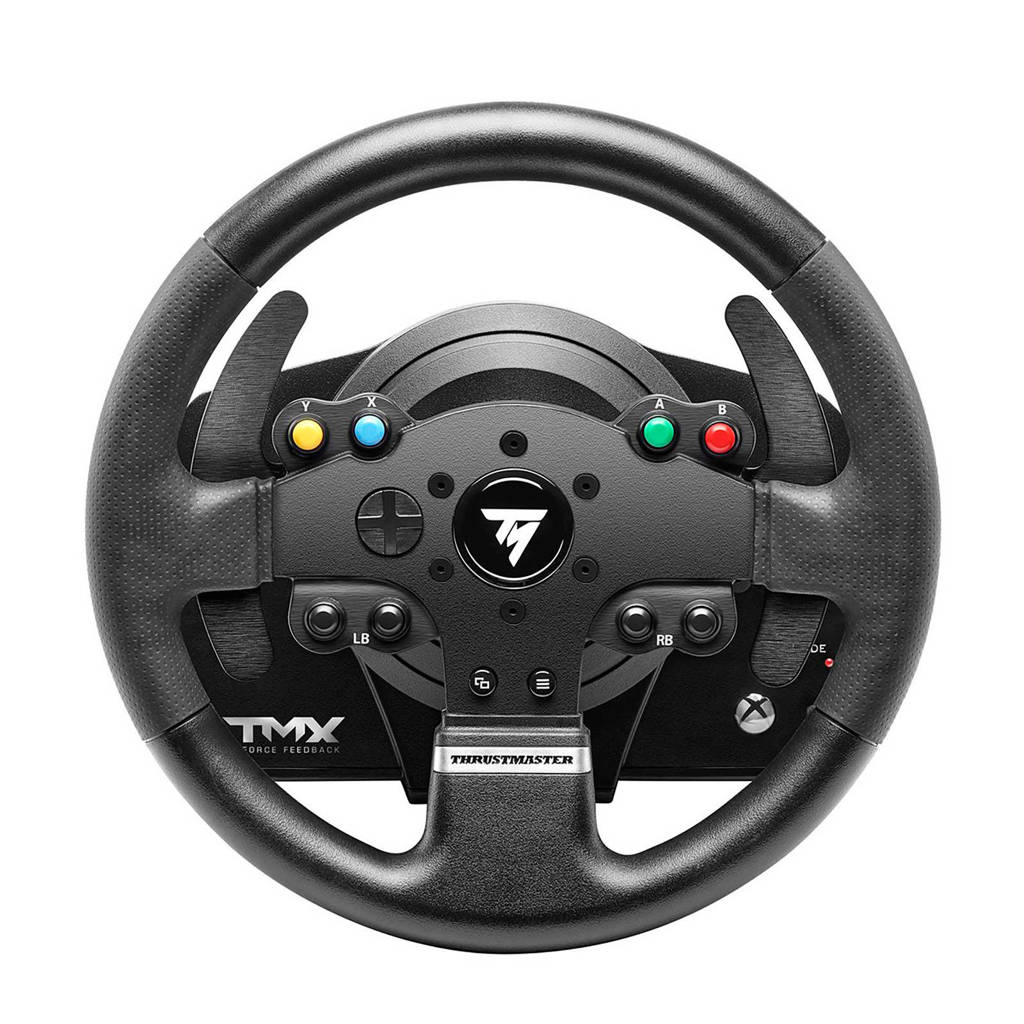 Thrustmaster  TMX Force Feedback racestuur en T3PA pedaalset voor Windows en Xbox One, Zwart