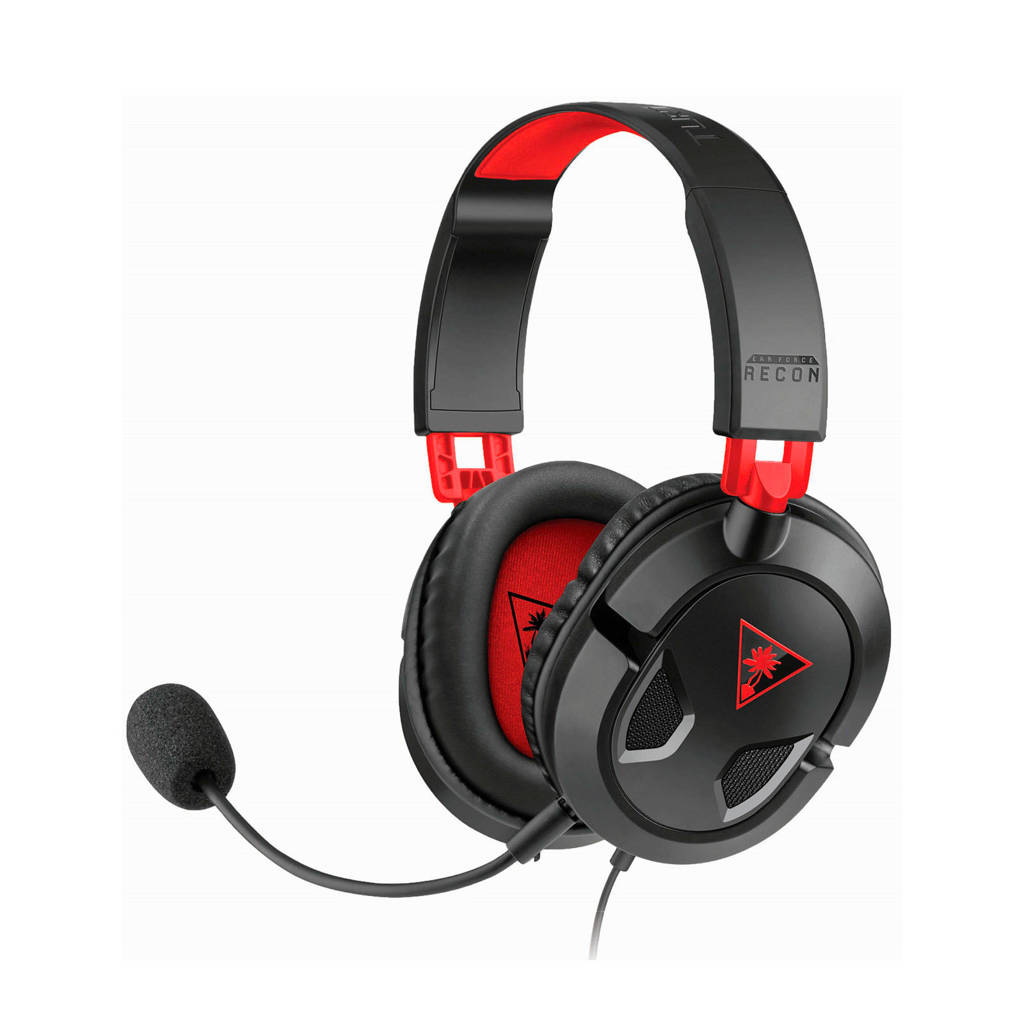 Turtle Beach  Ear Force Recon 50 (PC/PS4/XboxOne), Zwart, Rood