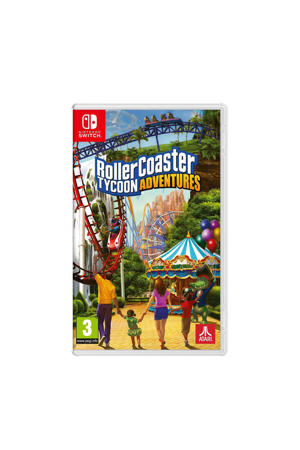 Rollercoaster tycoon - Adventures (Nintendo Switch)
