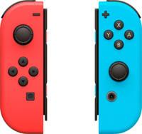 Nintendo Switch set 2 Joy-Con controllers rood/blauw, Rood/blauw