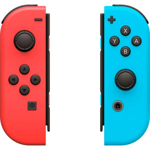 set 2 Joy-Con controllers rood/blauw