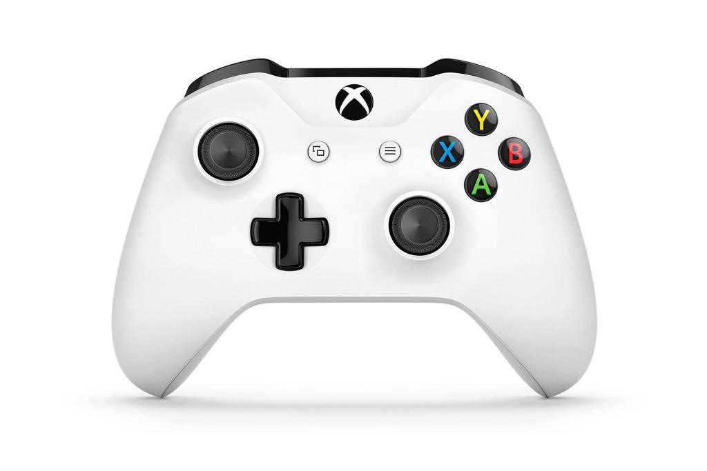 Microsoft Xbox One S draadloze controller wit, Wit