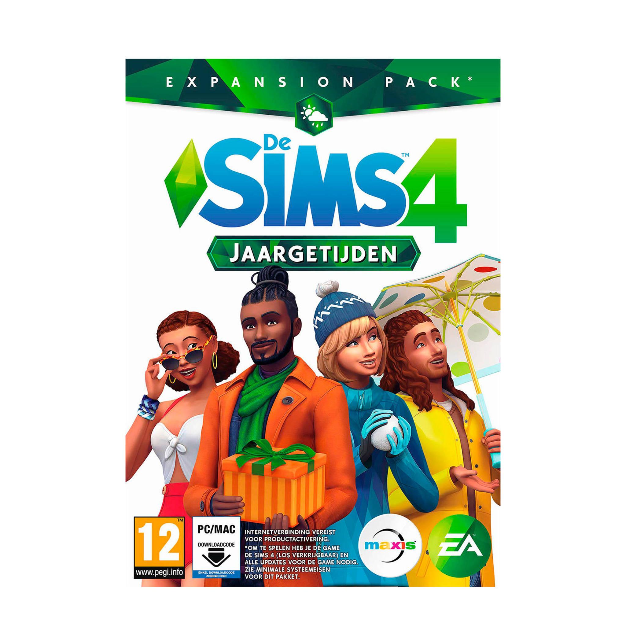 Electronic Arts De Sims 4 Jaargetijden Expansion Pack Download Code Pc Wehkamp