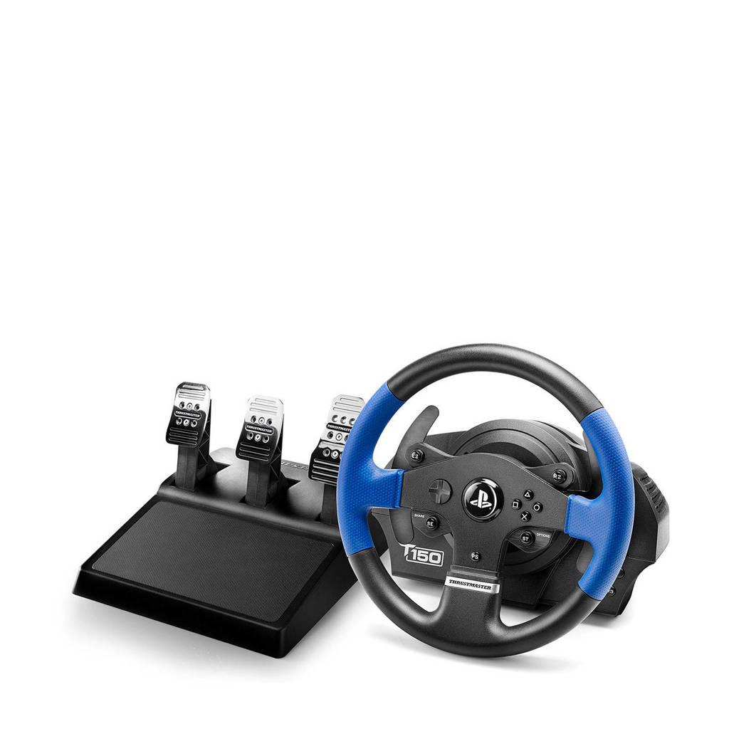 Thrustmaster T150 RS PRO racestuur (PS4/PS3/PC), Zwart, Blauw