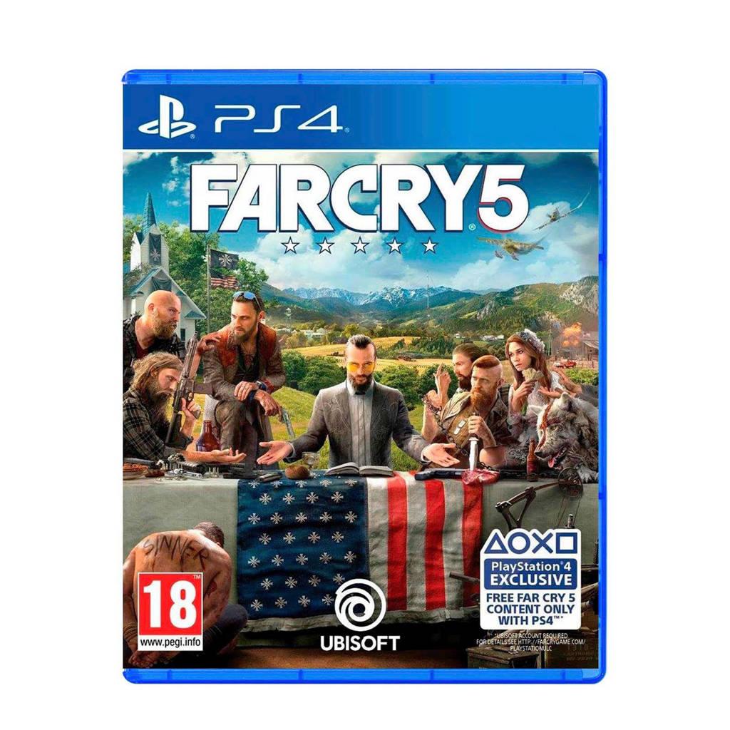 Far Cry 5 (PlayStation 4), N.v.t.