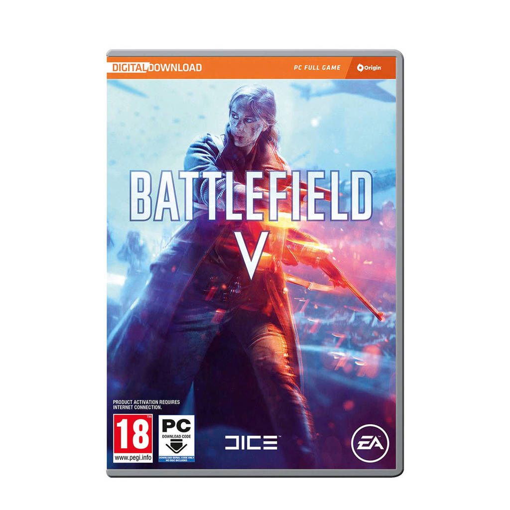 Battlefield V (code in a box) (PC), -