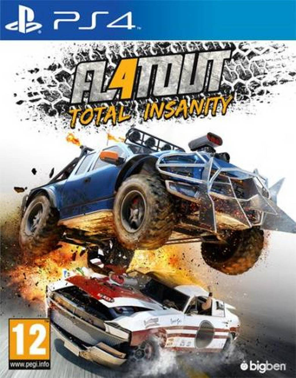 Flatout 4 - Total insanity (PlayStation 4)