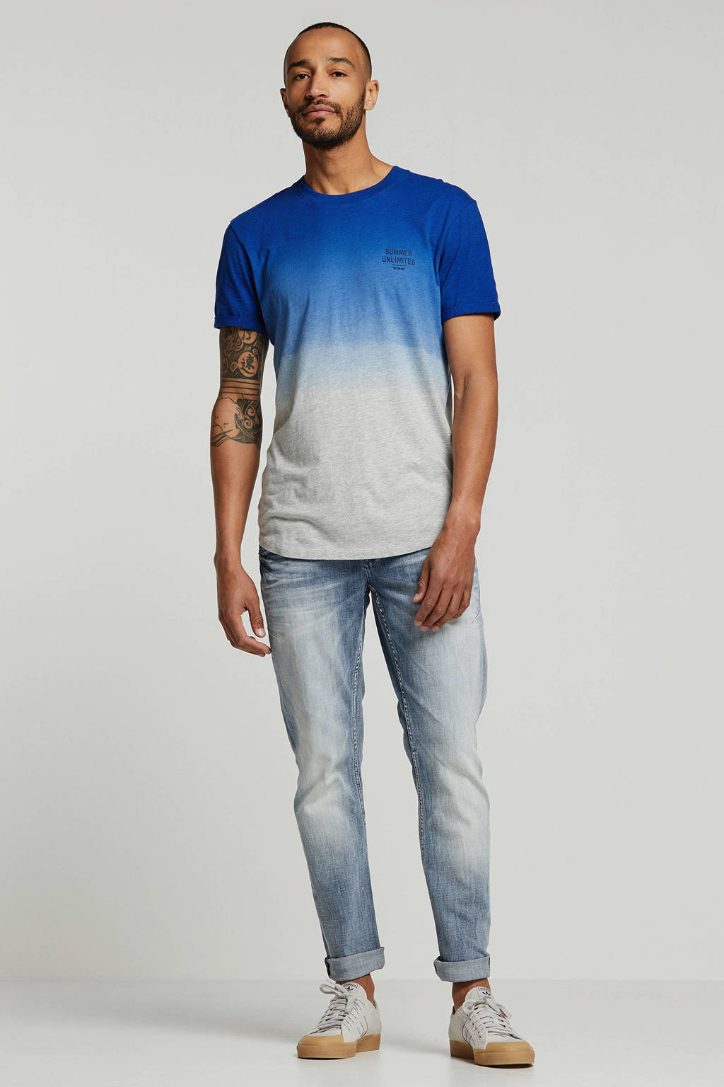 PME Legend straight fit jeans Curtis light denim, Light denim