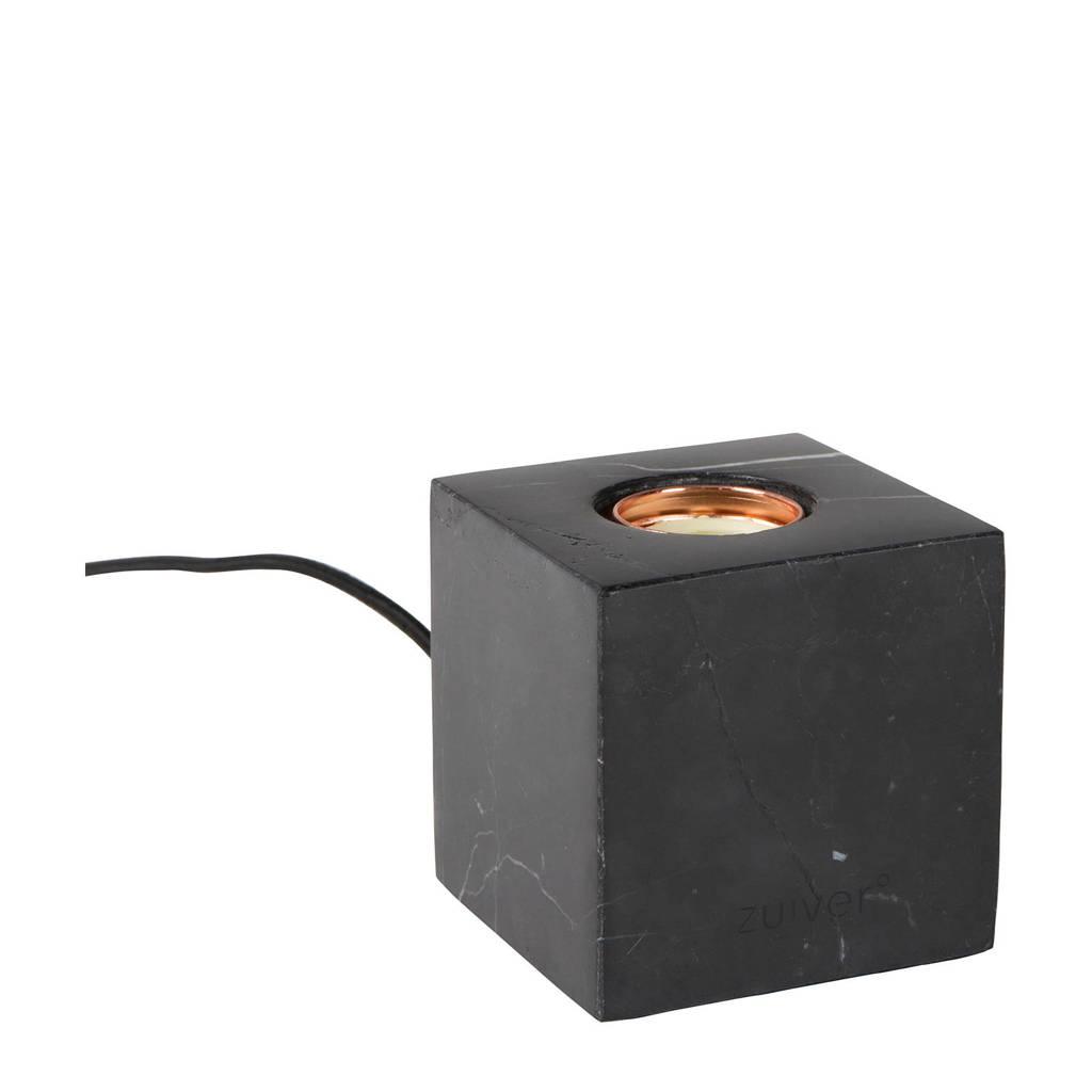 Zuiver tafellamp Bolch, Zwart, Marmer