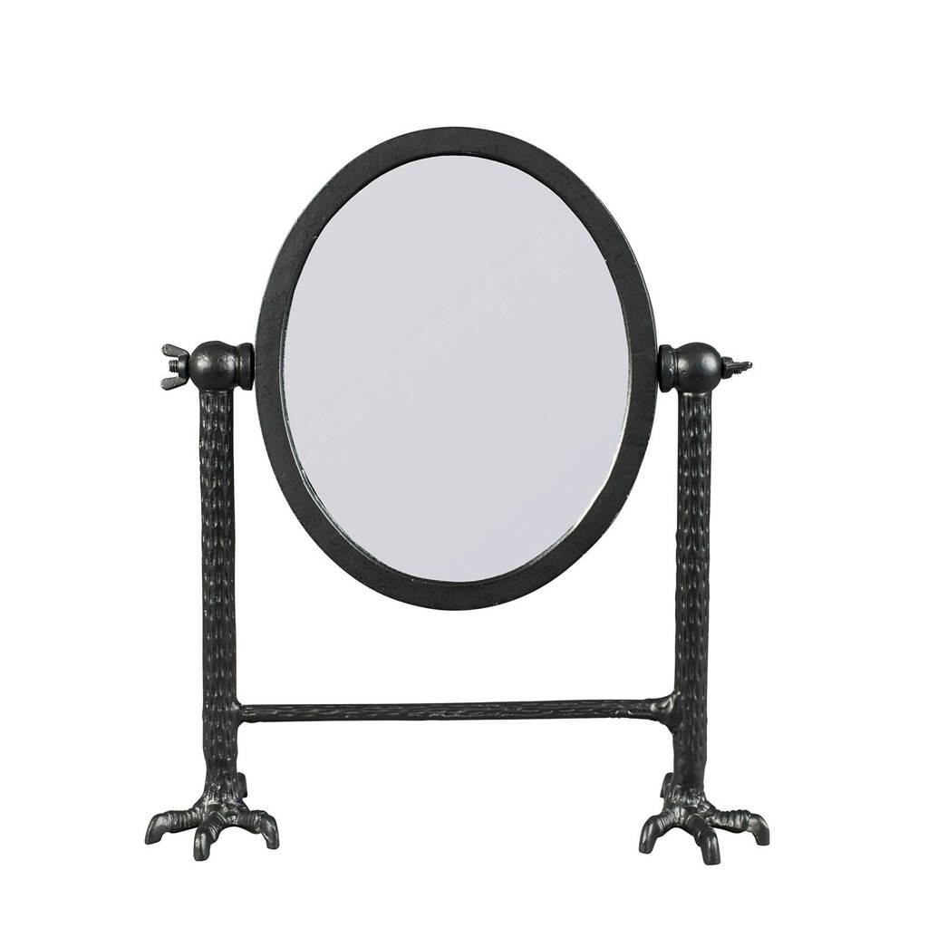Dutchbone spiegel Falcon, Zwart