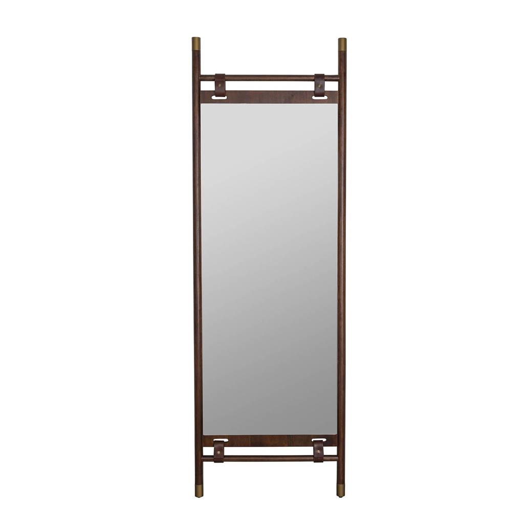 Dutchbone spiegel Riva, Bruin