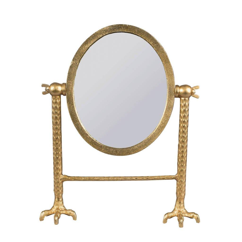 Dutchbone spiegel Falcon, Goud