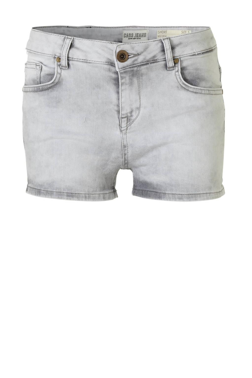 Cars jeans short Romy lichtgrijs, Lichtgrijs