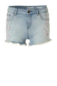 Cars jeans short Mindy blauw multi, Blauw multi