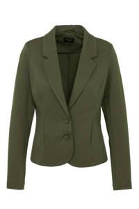 FREEQUENT blazer groen, Olijfgroen