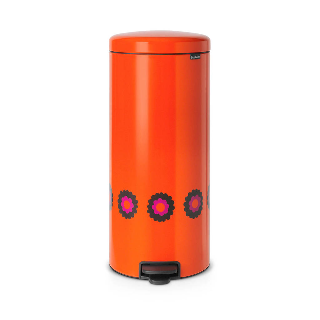 Brabantia NewIcon pedaalemmer (30 liter), Oranje